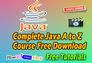 119Complete Java A to Z Course Free Download