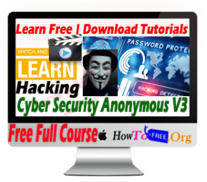 Learn Complete Cyber Security Anonymous Tutorials for Free Volume 3