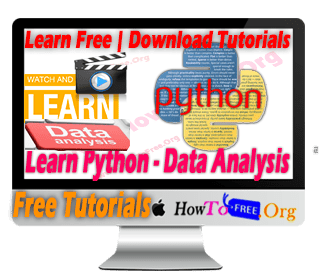 Learn Python Data Analysis Free Tutorials
