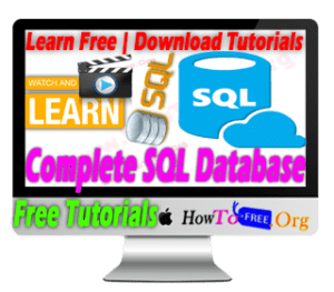 Learn SQL and Database Design A to Z Free Tutorials - PostgreSQL and MS SQL