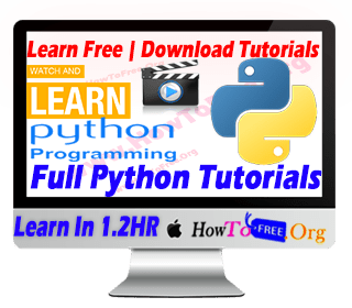 Learn Python Programming in One Hour For Free Tutorials