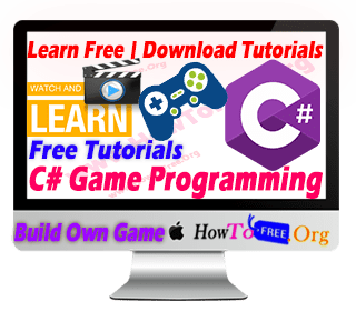 learn game development using c# free course, Online Free Course Download, Howtofree