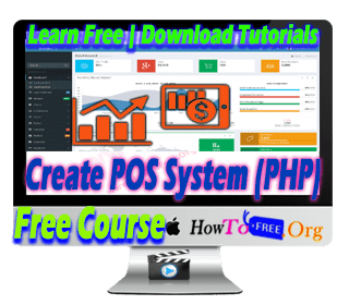 Build Inventory & Sales POS System with PHP Tutorials For Free