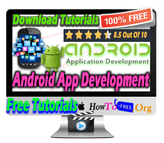 complete android app development course for free download