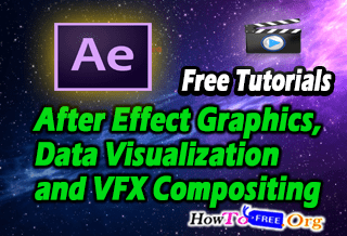 Complete After Effect Graphics, Visualization and VFX Compositing Course For Free