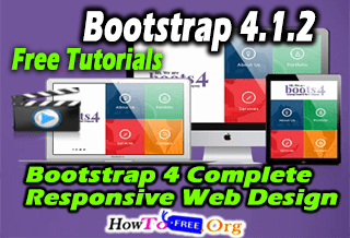 Bootstrap 4 Complete Responsive Web Design From Scratch Course For Free