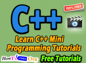 Learn C++ Mini Programming Best Course Tutorials For Free