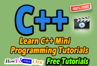 Learn C++ Mini Programming Best Course Tutorials For Free Download