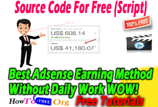 Google Adsense Autopilot Earning Method 2019 Course For Free