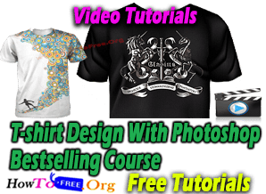 T-shirt Design With Photoshop Bestselling Course For Free