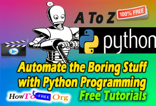 Python Programming Complete Automate Boring Stuff Course For Free