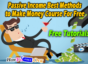 Passive Income Best Investing Methods to Make Money Course For Free