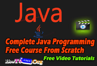 Complete Java Programming Free Course From Scratch