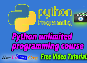 Python unlimited programming course for beginners