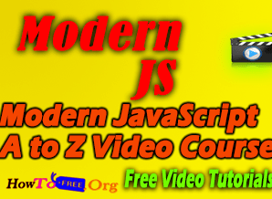 Modern JavaScript A to Z Video Course for Free