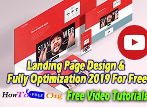 Landing Page Design & Fully Optimization 2019 For Free