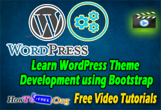 Learn WordPress Theme Development using Bootstrap