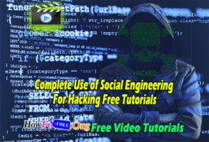 Complete Use of Social Engineering For Hacking Free Tutorials