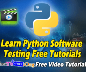 Learn Python Software Testing Free Tutorials