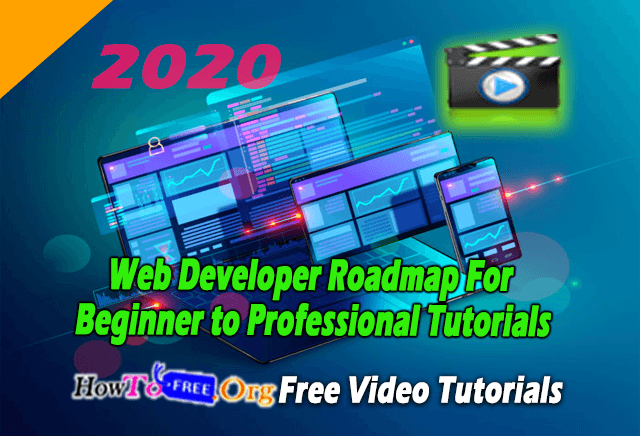 Web-Developer-Roadmap-For-Beginner-to-Professional-Tutorials