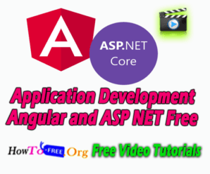 Application Development Angular and ASP NET Free Course