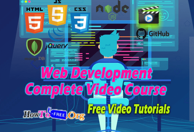 Web Development Complete Video Course 2020
