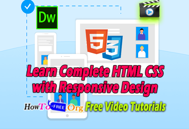 Learn Complete HTML CSS with Responsive Design