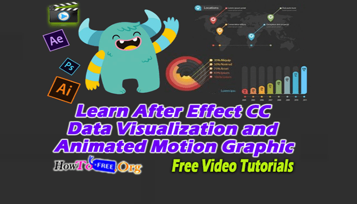 Learn After Effect CC Data Visualization and Animated Motion Graphic Free Video Course