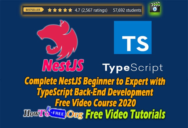 Complete NestJS Beginner to Expert with TypeScript Back-End Development Free Video Course