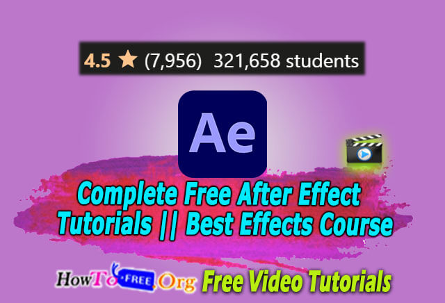 Complete Free After Effect Tutorials in 2020