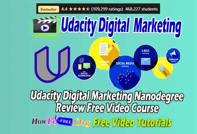 Udacity Digital Marketing Nanodegree Review Free Video Course