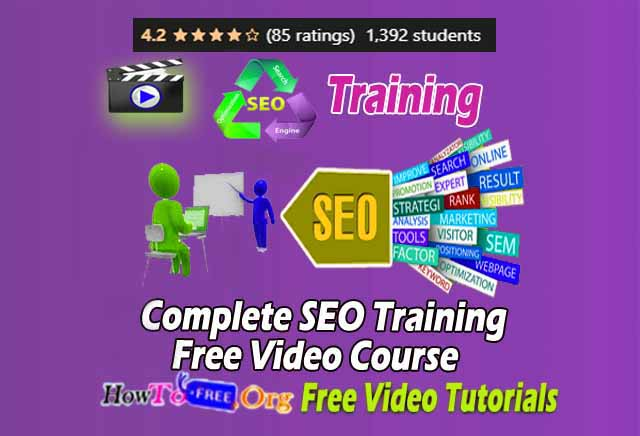 Complete SEO Training Free Video Course