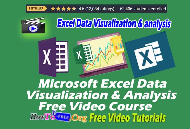 Learn Microsoft Excel Data Visualization & Data Analysis Free Video Course