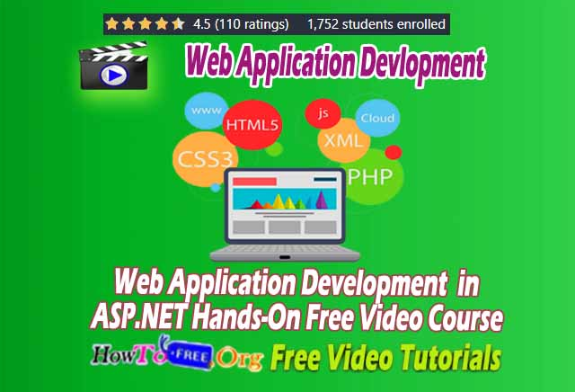 Web Application Development  in ASP.NET Hands-On Free Video Course