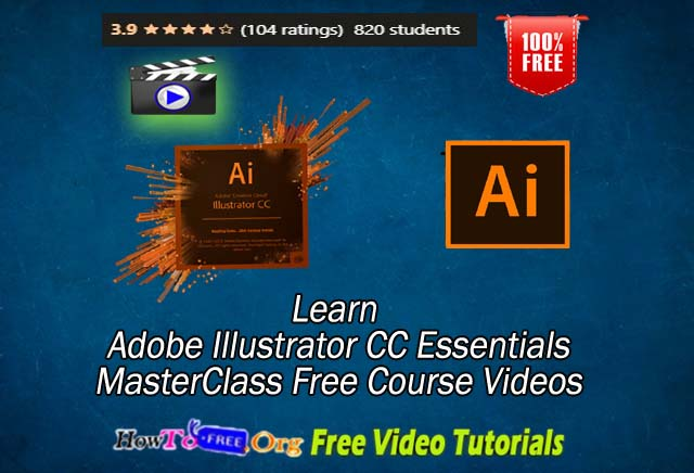 Learn Adobe Illustrator CC Tutorials Free Video Course