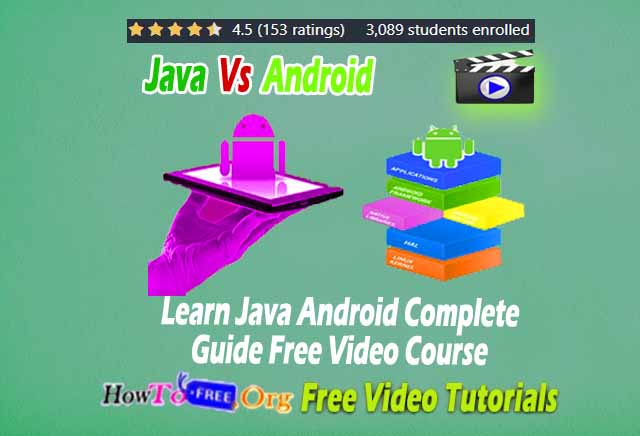 Java Android Complete Guide
