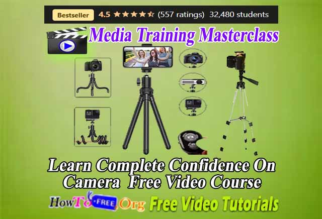 Complete Confidence On Camera  Free Video Course
