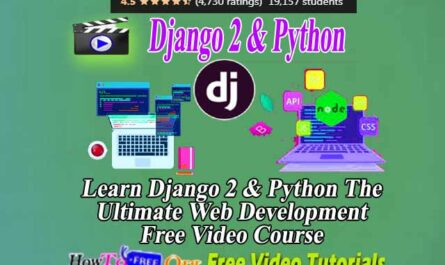 Django 2 & Python The Ultimate Web Development Bootcamp