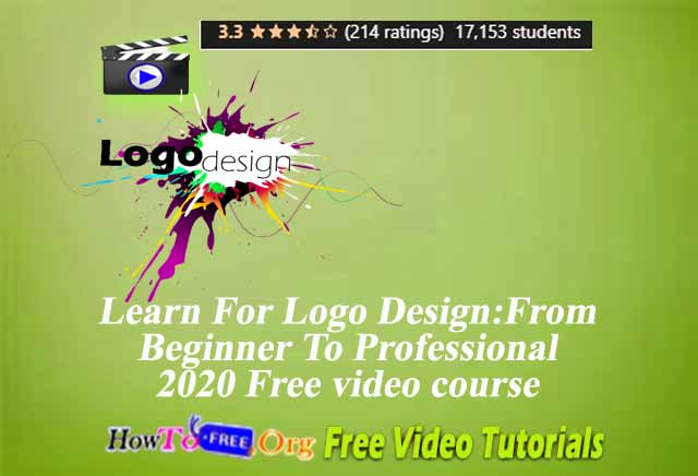 Learn For Logo Design: From Beginner To Professional 2020 Free video course