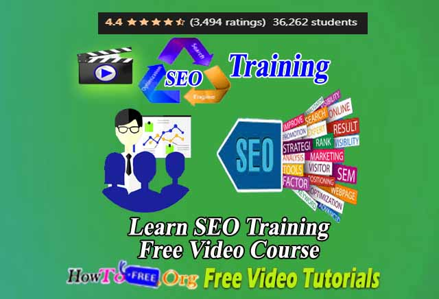 Learn SEO Training Free Video Course