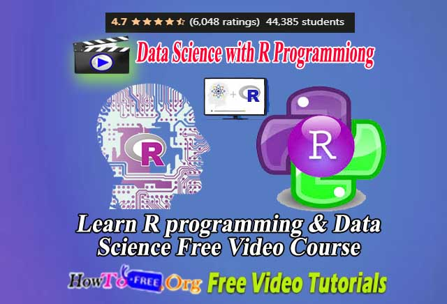 Learn R programming & Data Science Free Video Course