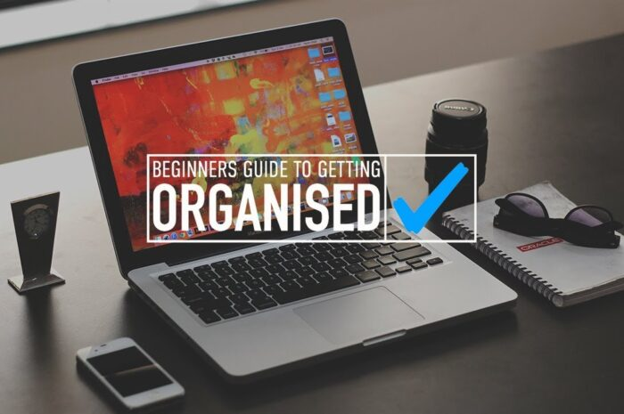 Beginners Guide To Getting Organised Free Course