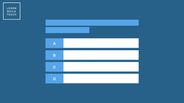 Build a Quiz App with HTML, CSS, and JavaScript Free Course