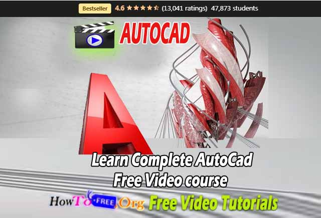 Learn Complete AutoCAD Free Video course Free Download