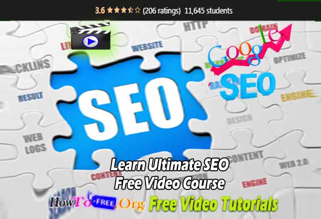 Learn Ultimate SEO Free Video Course