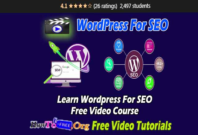 Wordpress For SEO