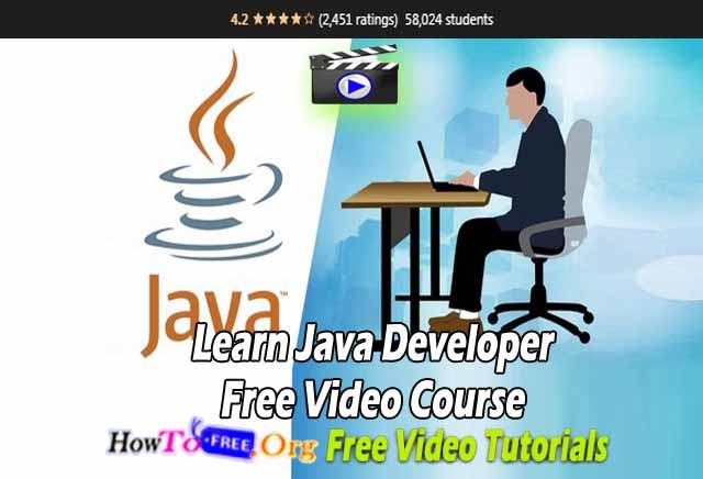 Learn Java Developer Free Video Course