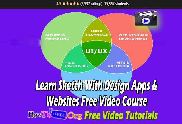 Learn Sketch With Design Apps Websites Free Video Course