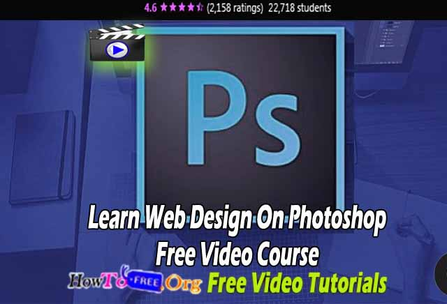 Learn Web Design On Photoshop Free Video Course