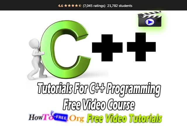 Tutorials For C++ Programming Free Video Course